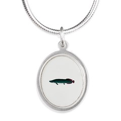 Arapaima (from Audreys Amazon River) Silver Oval N