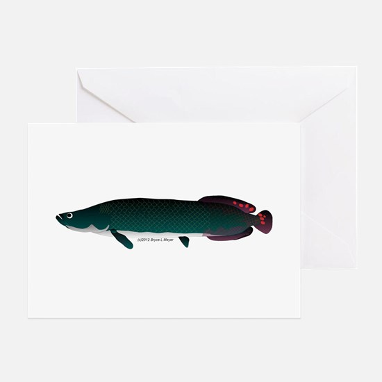 Arapaima (from Audreys Amazon River) Greeting Card