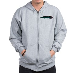Arapaima (from Audreys Amazon River) Zip Hoodie
