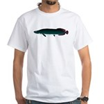 Arapaima (from Audreys Amazon River) White T-Shirt