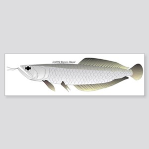 Arowana (from Audreys Amazon River) Sticker (Bumpe