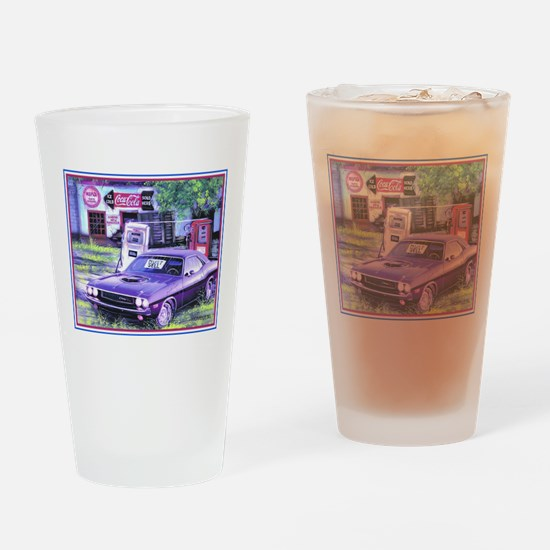 Unique Hemi Drinking Glass