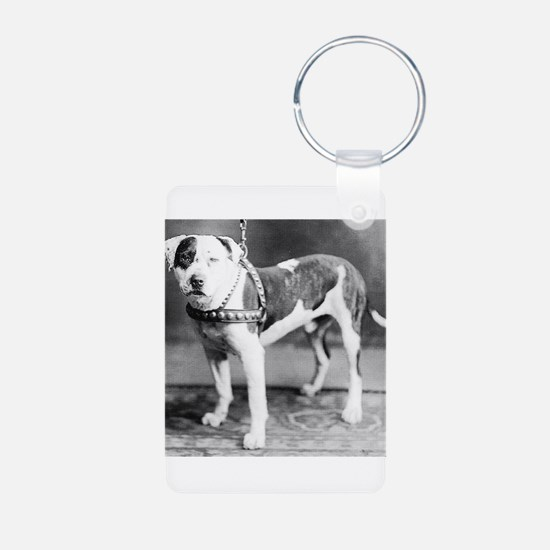 Websters Joker, a famous Colby bred dog Keychains