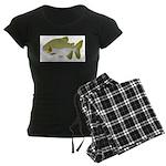 Pacu fish Women's Dark Pajamas