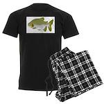 Pacu fish Men's Dark Pajamas