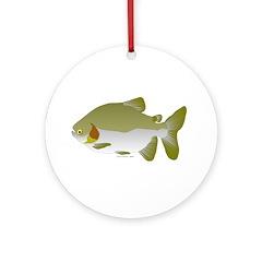 Pacu fish Ornament (Round)