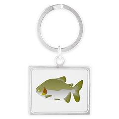 Pacu fish Landscape Keychain