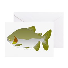 Pacu fish Greeting Cards (Pk of 20)