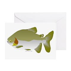 Pacu fish Greeting Card
