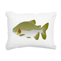 Pacu fish Rectangular Canvas Pillow