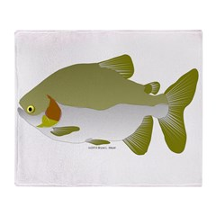Pacu fish Throw Blanket