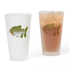 Pacu fish Drinking Glass