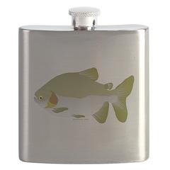 Pacu fish Flask