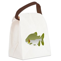 Pacu fish Canvas Lunch Bag