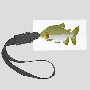 Pacu fish Large Luggage Tag