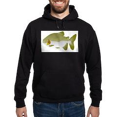 Pacu fish Hoodie (dark)