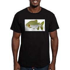 Pacu fish Men's Fitted T-Shirt (dark)
