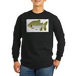 Pacu fish Long Sleeve Dark T-Shirt