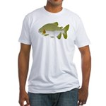 Pacu fish Fitted T-Shirt