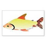 prochilodus (from Audreys Amazon River) Sticker (R