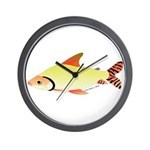 prochilodus (from Audreys Amazon River) Wall Clock