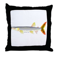 Bicuda (from Audreys Amazon River) Throw Pillow