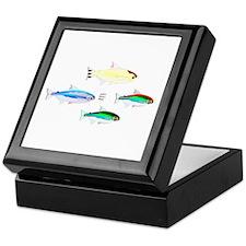 Four Tetras (Amazon River tropical fish) Keepsake