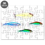 Four Tetras (Amazon River tropical fish) Puzzle