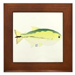 Elongate Hatchetfish Amazon River fish Framed Tile
