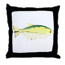 Elongate Hatchetfish Amazon River fish Throw Pillo