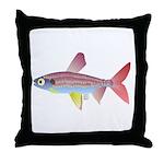 Watermelon fish (Amazon River) Throw Pillow