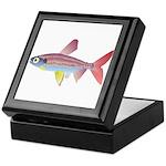 Watermelon fish (Amazon River) Keepsake Box
