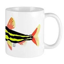 Striped Headstander fish Amazon tropical Mug