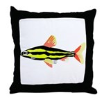 Striped Headstander fish Amazon tropical Throw Pil