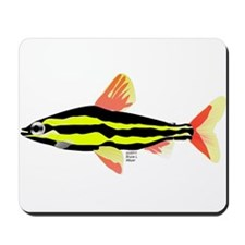 Striped Headstander fish Amazon tropical Mousepad