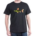 Striped Headstander fish Amazon tropical Dark T-Sh