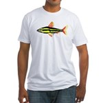 Striped Headstander fish Amazon tropical Fitted T-