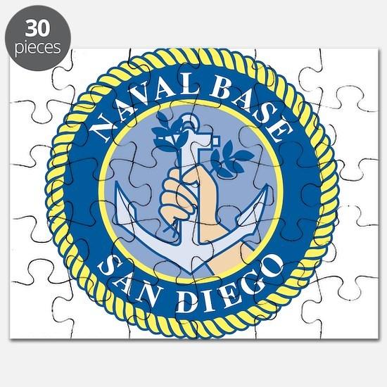 Naval Base San Diego Puzzle
