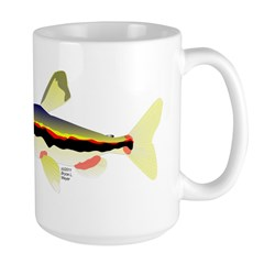 Golden Pencilfish tropical fish Amazon Large Mug