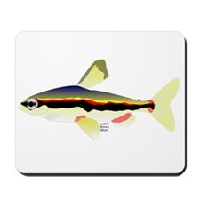 Golden Pencilfish tropical fish Amazon Mousepad