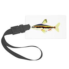 Golden Pencilfish tropical fish Amazon Luggage Tag
