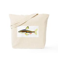 Golden Pencilfish tropical fish Amazon Tote Bag