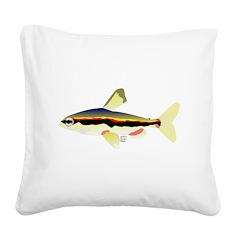 Golden Pencilfish tropical fish Amazon Square Canv