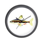 Golden Pencilfish tropical fish Amazon Wall Clock