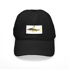 Golden Pencilfish tropical fish Amazon Baseball Hat