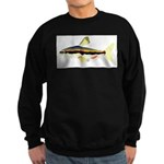 Golden Pencilfish tropical fish Amazon Sweatshirt