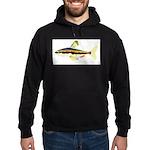 Golden Pencilfish tropical fish Amazon Hoodie (dar