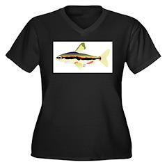Golden Pencilfish tropical fish Amazon Women's Plu