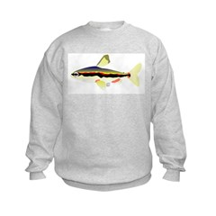 Golden Pencilfish tropical fish Amazon Sweatshirt