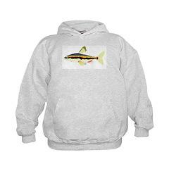 Golden Pencilfish tropical fish Amazon Hoodie